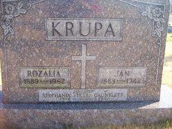 Rozalia Rose <i>Tuczek</i> Krupa