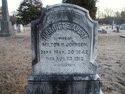 Harriet Elizabeth <i>Avery</i> Johnson