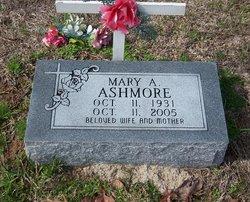 Mary A <i>Moody</i> Ashmore