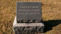 Carrie E Bair