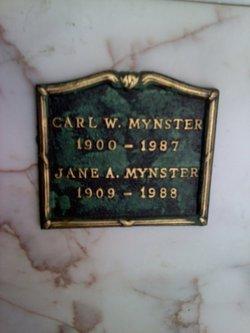 Jane <i>Arnout</i> Mynster