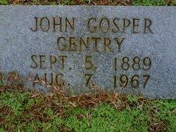 John Gosper Bud Gentry