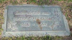 Bertha C. Anderson
