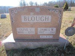 Olive V. <i>Roudabush</i> Blough