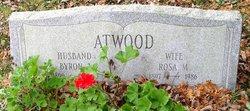 Rosa May <i>Burgess</i> Atwood