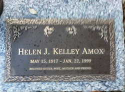 Helen Jenette <i>Kelley</i> Amox