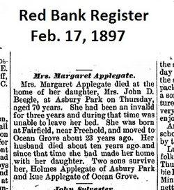 Margaret <i>Fielder</i> Applegate