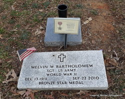 Sgt Melvin W. Bart Bartholomew