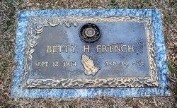 Betty <i>Hodson</i> French