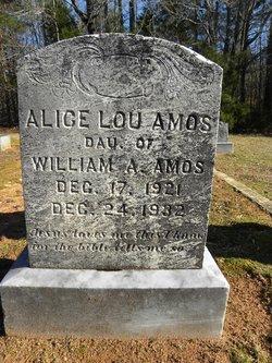 Alice Lou Amos