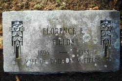 Florence E Fields