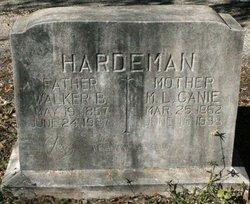 Walker B Hardeman