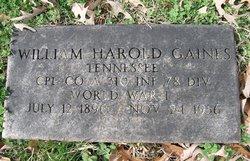 William Harold Gaines