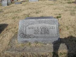 Mary K <i>Carroll</i> Crossley