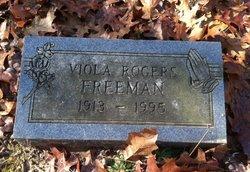 Viola <i>Rogers</i> Freeman