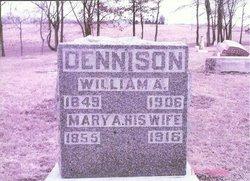 Mary A <i>Wilson</i> Dennison