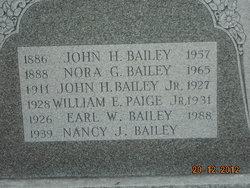Earl W. Bailey