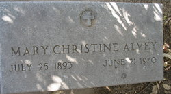 Mary Christine Alvey