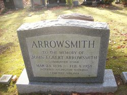 CDR John Egbert Arrowsmith