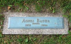 Agnes <i>Erhardt</i> Bauer