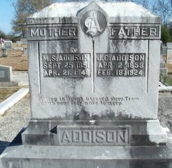 Mahalia Susan <i>Vandiver</i> Addison