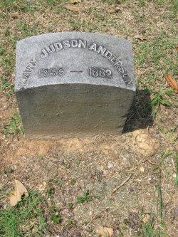 Mary <i>Judson</i> Anderson
