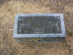 Emma <i>Chambers</i> Allen
