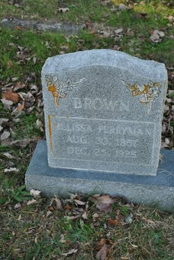 Sarah Melissa Minnie <i>Perryman</i> Brown