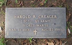 Harold R Creager