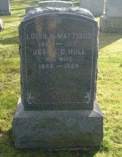 Jessie D <i>Hull</i> Mattison
