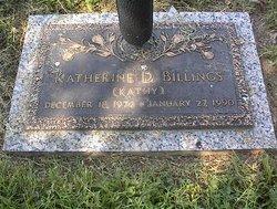 Katherine D Kathy Billings