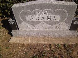Rose Mary <i>Wright</i> Adams