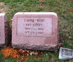 Carrie <i>Losey</i> Wert