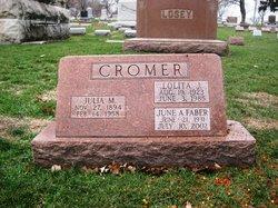 Julia M. <i>Losey</i> Cromer