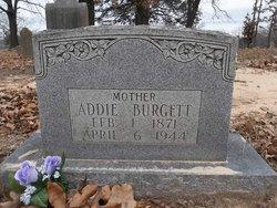 Mary Adeline <i>Hawkins</i> Burgett