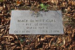 Mack Dewitt Curl
