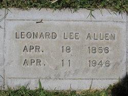Leonard Lee Allen