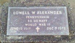 Lowell William Alexander