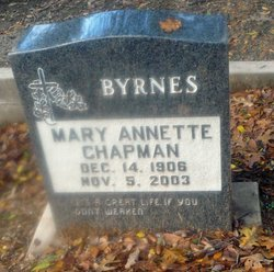 Mary Annette <i>Chapman</i> Byrnes