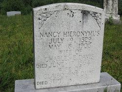 Nancy <i>Hieronymus</i> Davis Duff