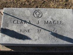 Clara Josephine <i>Heller</i> Magee