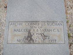 Archie Corneilus Buchan
