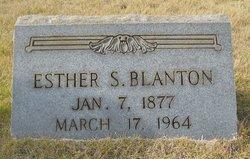 Esther <i>Still</i> Blanton