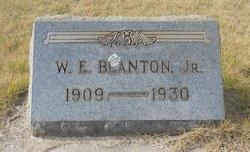 William Edward Blanton, Jr