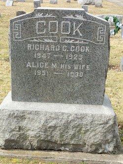 Alice M Cook