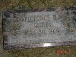 Florence Margaret <i>Mueller</i> Haines