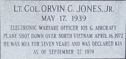 Orvin C Jones, Jr