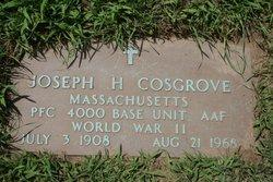 Joseph H Cosgrove