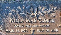 Willa Mae <i>Merrell</i> Clouse