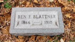 Benjamin F Blattner